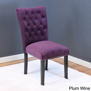 Markelo Tufted Velvet Dining Chairs (Set of 2)