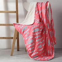 Clairebella Feathers 50x70 Reversible Throw