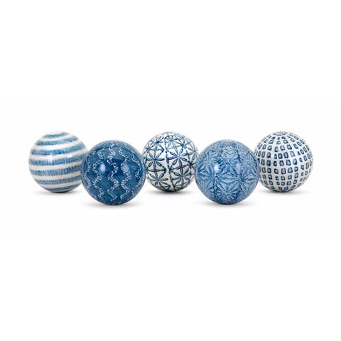 The Curated Nomad Biltmore 5-piece assorted Spheres Set