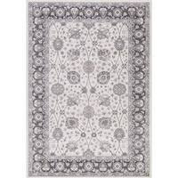 Lacey Collection Val Grey Area Rug (2'7 x 4')