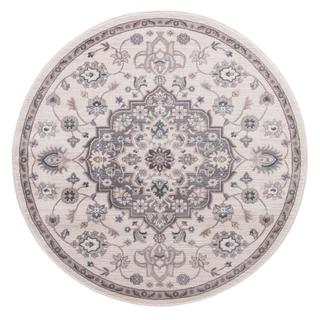 Concord Global Lara Cara Round Rug - 5'3 x 5'3