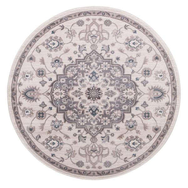 Lacey Collection Cara Round Rug (5'3) - 5'3 x 5'3