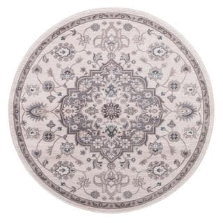 Lacey Collection Cara Round Rug (5'3)