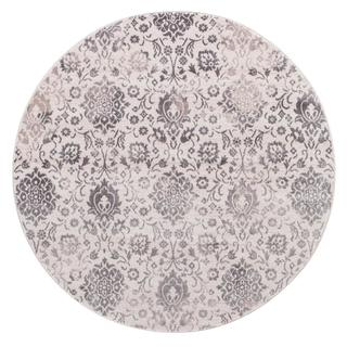 Lacey Collection Deila Ivory Rug (5'3 Round)