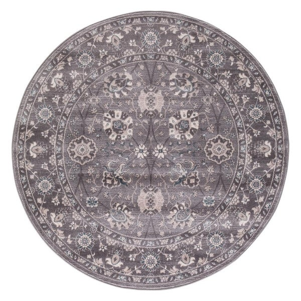Concord Global Lacey Val Rug - 7'10 x 7'10