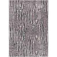 Concord Global Lara Abstract Zees Area Rug - 6'7 x 9'3