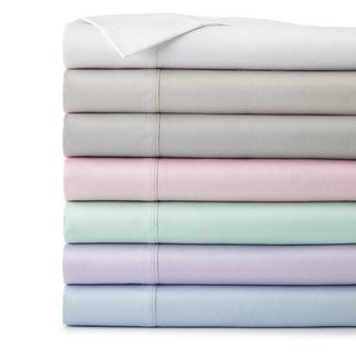 Southshore Fine Linens Briteyarn 100-percent Cotton Extra Deep Pocket Solid Sheet Set