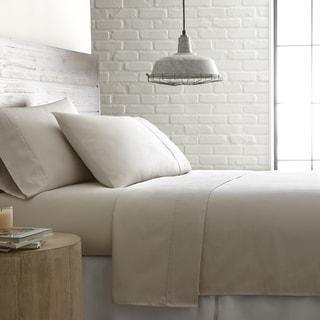 Southshore Fine Linens Briteyarn 100-percent Cotton Extra Deep Pocket Solid Sheet Set