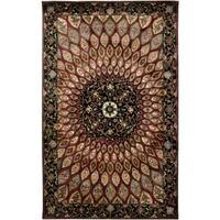 Shine Multicolor Wool Hand-Tufted Area Rug (8' Round)