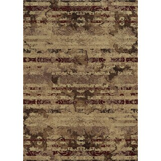 Rizzy Home Bennington Ivory Area Rug (7'10 Round)