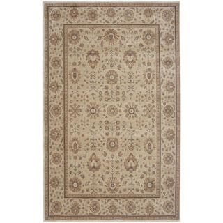 Rizzy Home Bellevue Khaki and Tan Round Area Rug (7'10 Round)