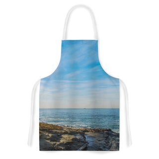 KESS InHouse Nick Nareshni 'Blue Sky Over The Ocean' Artistic Apron
