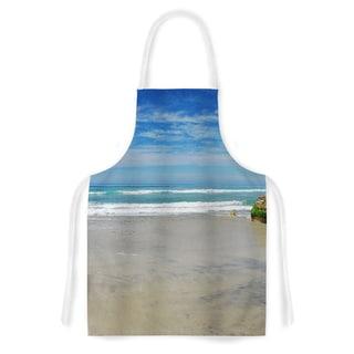 KESS InHouse Nick Nareshni 'Solana Beach Sands' Artistic Apron