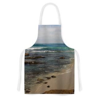 KESS InHouse Nick Nareshni 'Clear Water Beach' Artistic Apron