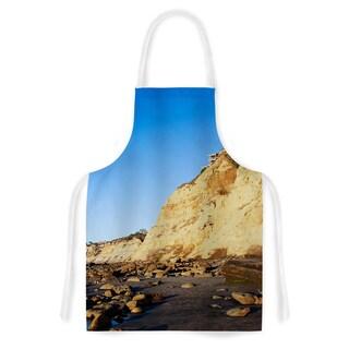 KESS InHouse Nick Nareshni 'Beach Cliffside Rocks' Artistic Apron