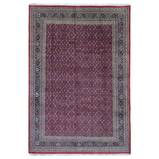 FineRugCollection Handmade Herati Red Oriental Wool Rug (8'1 x 11'8)