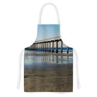 KESS InHouse Nick Nareshni 'Scripps Beach Pier' Artistic Apron