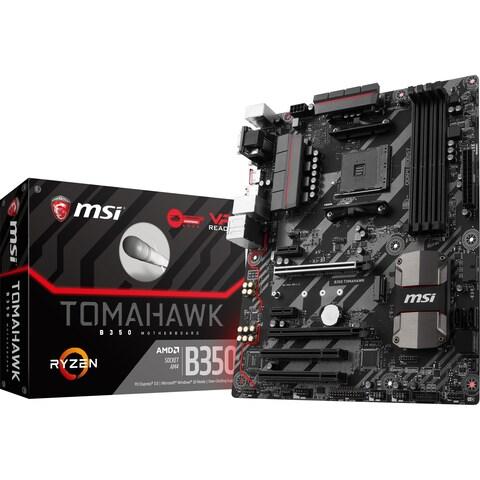 MSI B350 TOMAHAWK Desktop Motherboard - AMD Chipset - Socket AM4