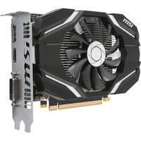 MSI GTX 1050 2G OC GeForce GTX 1050 Graphic Card - 1.40 GHz Core - 1.