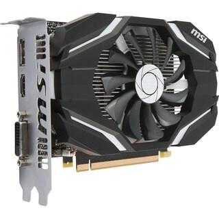 MSI GTX 1050 Ti 4G OC GeForce GTX 1050 Ti Graphic Card - 1.34 GHz Cor