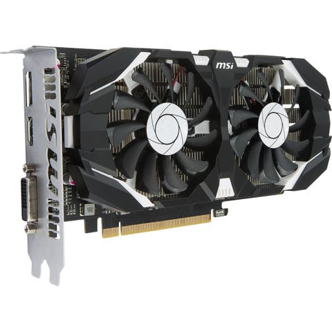 MSI GTX 1050 TI 4GT OC GeForce GTX 1050 Ti Graphic Card - 4 GB GDDR5