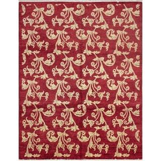 Peshawar Zarathustra Red/Beige Rug (7'11 x 9'10)