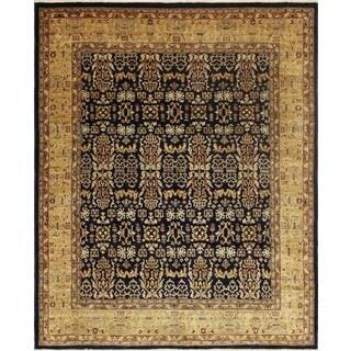 Peshawar Mohidil Blue/Gold Rug (7'10 x 9'6)