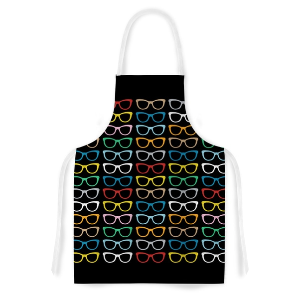 KESS InHouse Project M 'Sun Glasses at Night' Artistic Apron