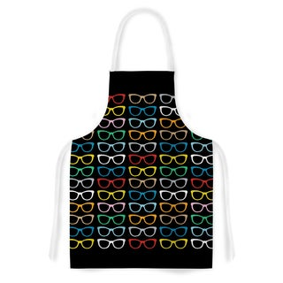 KESS InHouse Project M 'Sun Glasses at Night' Artistic Apron