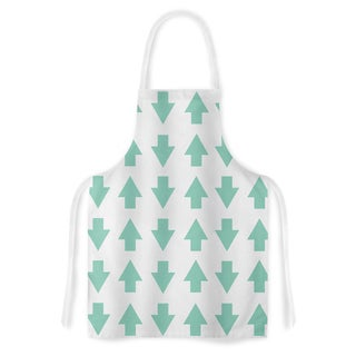 KESS InHouse Project M 'Arrows Up and Down Mint' Artistic Apron