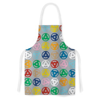 KESS InHouse Project M 'Roll with it on Grey' Artistic Apron