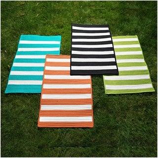 Indoor/Outdoor LifeStyle Stripe Rug (2' x 4') - 2' x 4'