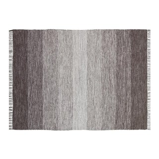 Ombre Cotton Fringe Area Rug - 5' x 7'