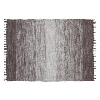 Ombre Cotton Fringe Area Rug (7'3 x 9'3)