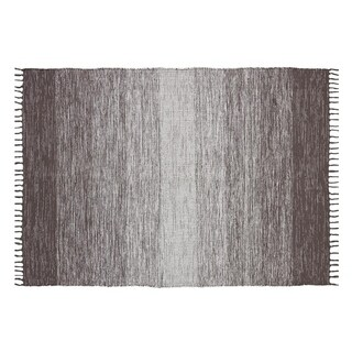 Ombre Cotton Fringe Area Rug - 7'3 x 9'3