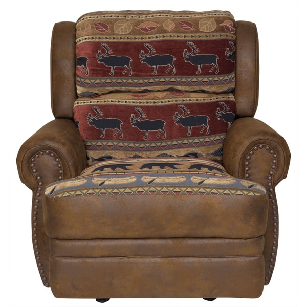 Club Chair Style Recliners Texas Home Furniture Styles