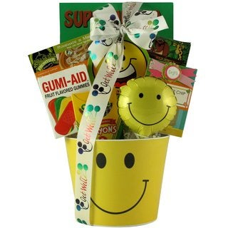 Get Well Smiles Kids' Get Well Gift Basket for Ages 3 to 5