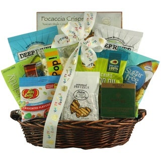 Sugar-free Birthday Celebration Gift Basket