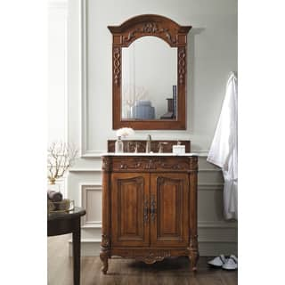St. James Cherry 30-Inch Single Bathroom Vanity