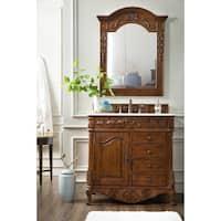 St. James Cherry 36-Inch Single Bathroom Vanity