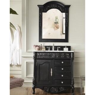 St. James Empire Black 36 Inch Single Bathroom Vanity