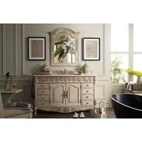 St. James Empire Linen Beige 60-Inch Single Bathroom Vanity