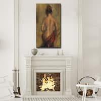 Ready2HangArt Wrapped Canvas Nude 'November' by Penelope