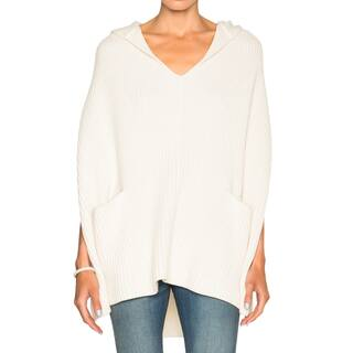 Derek Lam 10 Crosby White Poncho|https://ak1.ostkcdn.com/images/products/14584995/P21131314.jpg?impolicy=medium