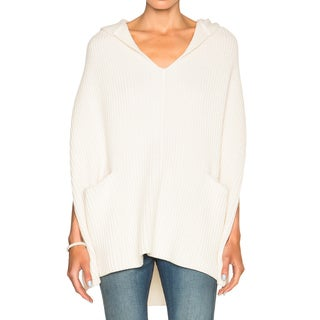 Derek Lam 10 Crosby White Poncho (3 options available)