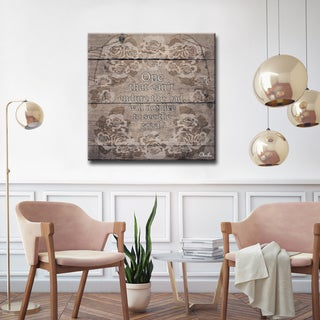 Ready2HangArt Wrapped Canvas Inspirational Wall Art - See Good