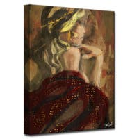 Ready2HangArt Wrapped Canvas Nude 'December' by Penelope