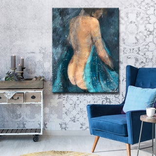 Ready2HangArt Wrapped Canvas Nude 'January' by Penelope