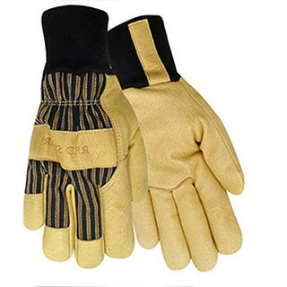 Red Steer 59260 Heatsaver Thermal Lined Grain Pigskin Leather Palm Gloves, Large