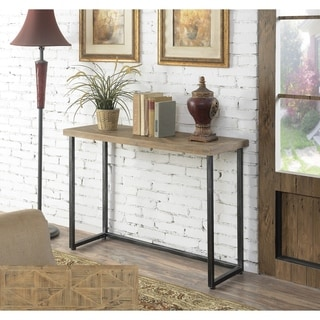 Convenience Concepts Laredo Parquet Console Table
